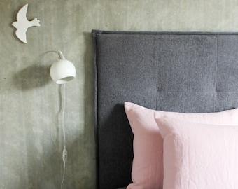 Softened Linen Pillowcase - Linen pillow case - Pink linen bedding - Stone washed linen - Dusty Pink - Bed linens