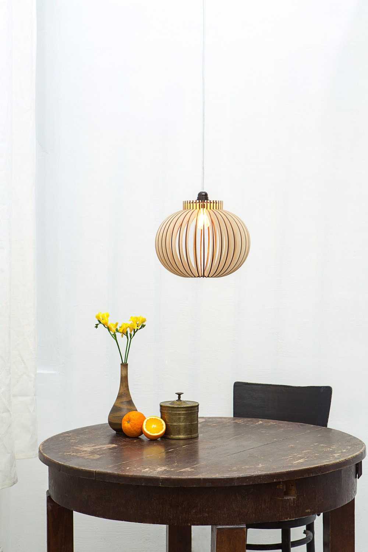 De style moderne en bois suspendu lampe lampe de cuisine en - Lampe De Cuisine