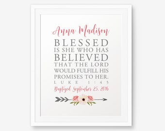 Blessed is she who has believed that the LORD would fulfill