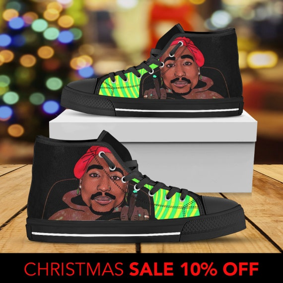 Converse Tupac Custom Shoes Tupac Custom Shoes Custom Shakur Custom Sneaker Shakur Rap Tupac Shakur Converse Art Tupac 2pac Top High 6ZvpXZqw