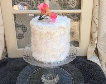 2 tier cake stand, dessert stand, cupcake stand, wedding cake stand, pedestal cake plate, cupcake holder, wedding shower,