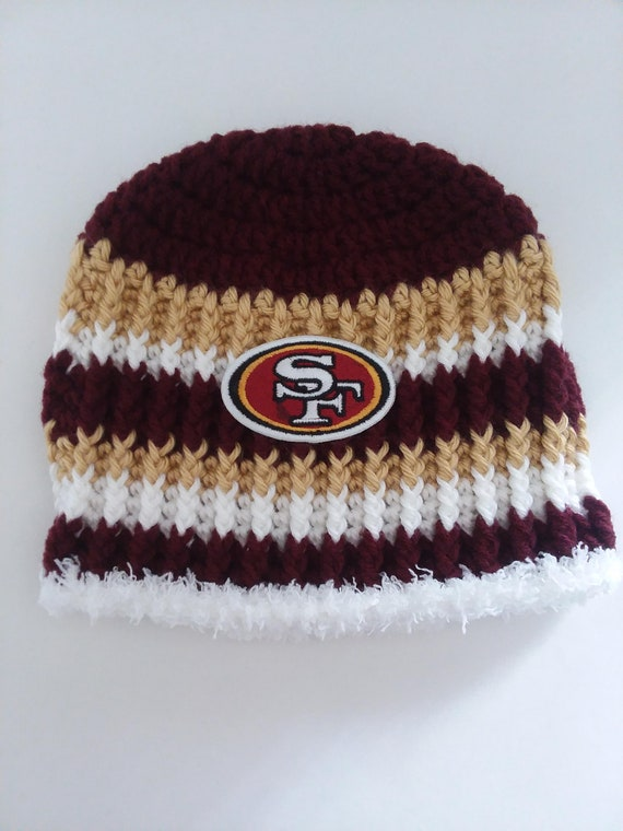 7a2a6349 ... promo code for san francisco 49ers football childs beanie size 2 5  years 7335c 5bc0c