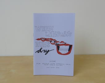 When Language Runs Dry, Number 3 - a zine for people with chronic pain and their allies