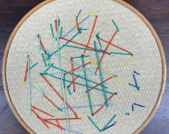 Abstract Embroidery