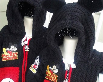 Mickey Mouse Stadium Jacket with Hoodie Ears  Baby to Toddler