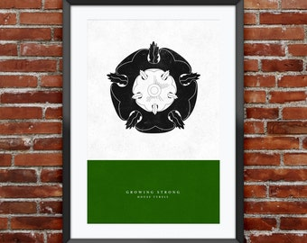 Game of Thrones - House Tyrell print 11X17""