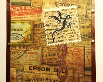 Original Critter Stamp  ACEO