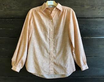 Vintage 70s/80s Button-Up Blouse