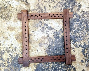 Walnut Slate frame Slateframe for Embroidery