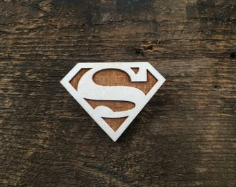 Superman pins or magnets
