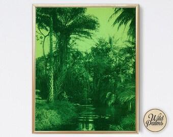 Vintage Palms - Vintage Style - Art Print