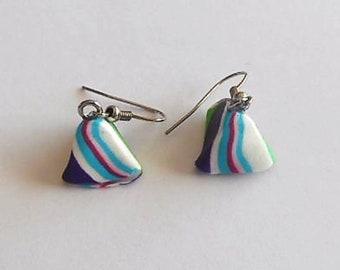 Humbugs polymer clay earrings