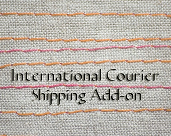 Expedited Shipping Option using International Courier Service for 2 or more items