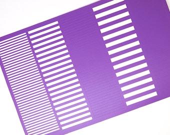 Stripes variety nail vinyl/ Nail art guides/ Nail art tape/ Straight nail vinyls/ Nail design/ Thick nail stripes/ Nails/ Nail art supply