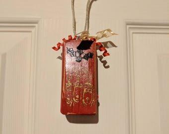 Christmas oranaments, wood