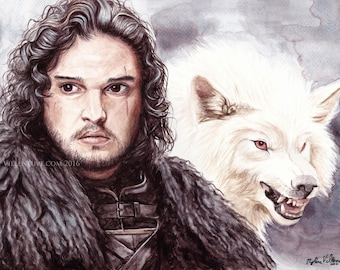 Jon Snow Prints