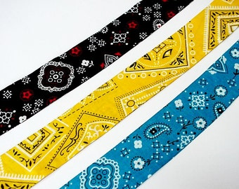 Western Neck Cooler Wrap, Cowboy Stay COOL Tie Bandana, Heat Relief Cooling Headband Scarf, Reusable, Turquoise Yellow Black iycbrand