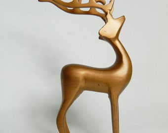 Iron - painted deer copper-