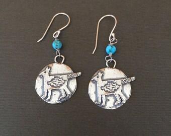 Sleeping Fox Earrings - Sterling Silver lo2oeQ