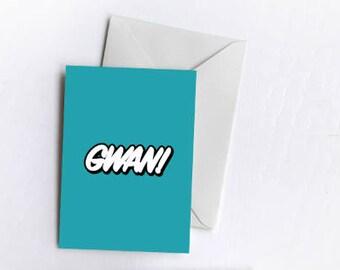 Gwan! | Greetings Card