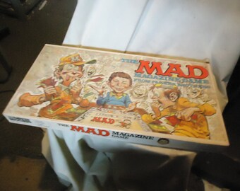 Vintage 1979 The Mad Magazine Board Game From Parker Brothers, NEAR COMPLETE, collectable