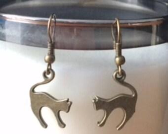Cali cat ears earrings