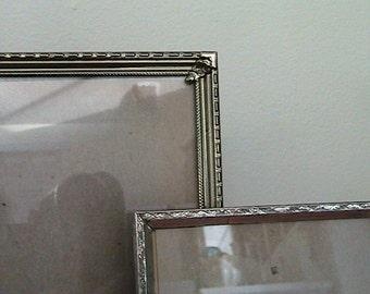 Vintage Gold Metal Frames - Set of Two
