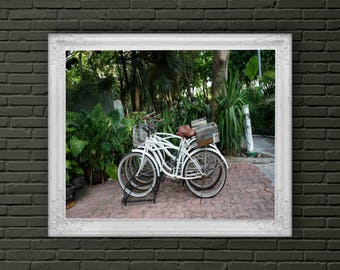 Bicycles in Mexico Art Print for Digital Download
