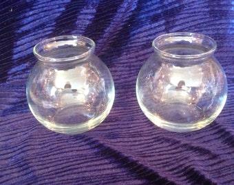 vintage bubble vases