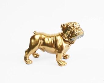 Bulldog Statue, Bulldog Figurine, Bulldog Homewares, English Bulldog, Dog Statue, Dog Decor, English Bulldog Statue,