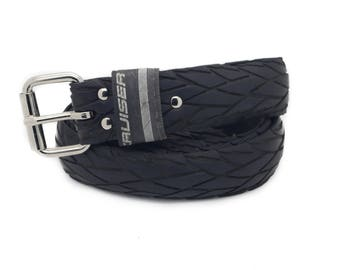 """Bicycle Tire Belt """"CRUISER 35mm"""" (upcycled vegan handmade) by tirebelt.com - Fall Collection 2016"""