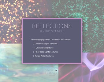 Reflections Textures Bundle [Digital Files]