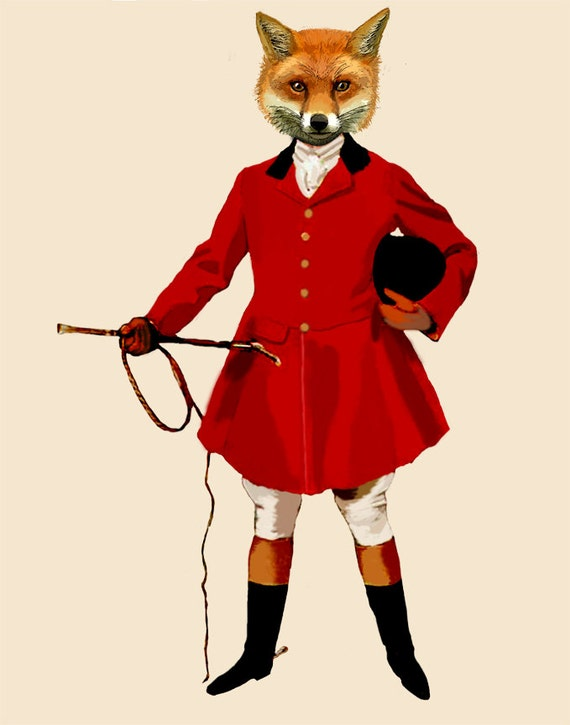 & Fox Hunter 2 Full Fox hunting fox print fox painting fox
