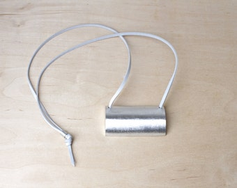 Minimalist Necklace Aluminum Necklace Contemporary Jewelry