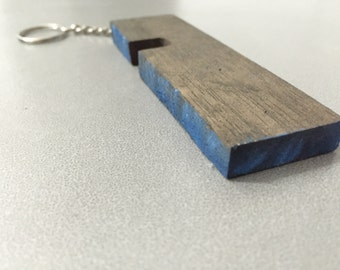 Wooden Keychain compact inotch for phone