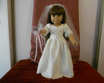 Bride Dress for 18 inch or American Girl doll