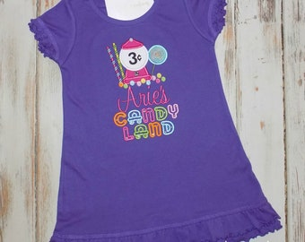 Candyland Birthday Dress, Candy Birthday Dress, Candyland dress, Bubblegum Birthday Dress, Candyland outfit, Candy dress, sew cute creations