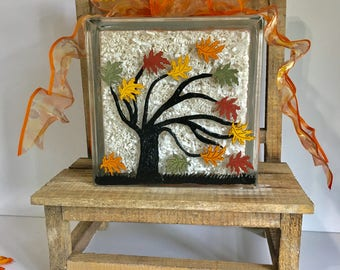 Centerpieces For Fall, Fall Tree Decor, Fall Leaves Centerpiece, Tree Silhouette, Fall Leaves Decor, Autumn Centerpiece, Autumn Decor