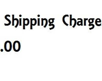 Extra Shipping Charge 5 Dollars