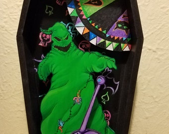 nightmare before Christmas shadow boxes