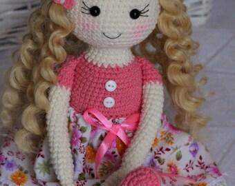 Amigurumi Doll Patterns : Amigurumi doll in butterfly costume amigurumi today