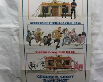 Bank Shot 1974 74/174 Movie Poster mp055