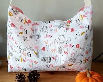 Garden Fox diaper bag