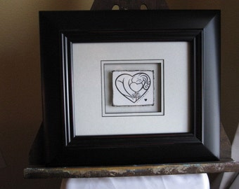 For The Love of You (The Girl) - Framed