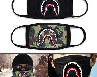 Bape shark dusk mask