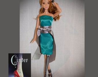 Cinder from The Lunar Chronicles inspired doll