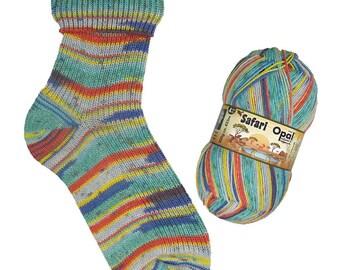 Opal Sock Yarn Safari superwash 100g/465yds #9531