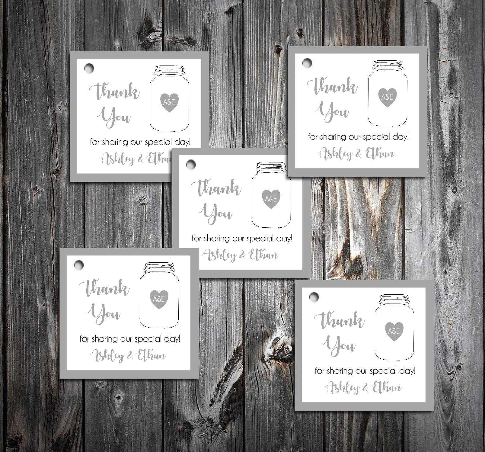 Fantastic Wedding Favors Mason Jars Component - The Wedding Ideas ...