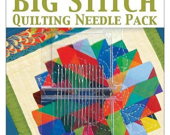 SALE Big Stitch Quilting Needle Pack
