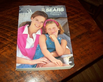 Sears catalog 1993 spring summer last one made vintage department store shopping book Sears Roebuck Company mail order tradition